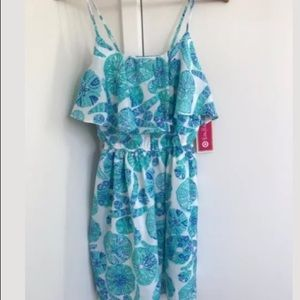 Lily Pulitzer for Target NWT Sml turquoise dress